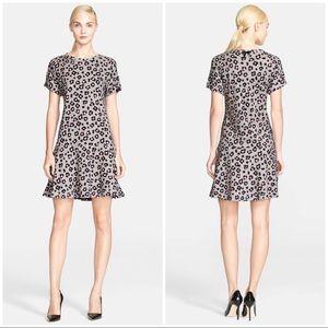 🆕 Kate Spade Cyber Cheetah Dropped Waist Dress